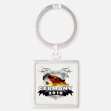 GERMANY World Cup 2010 Square Keychain