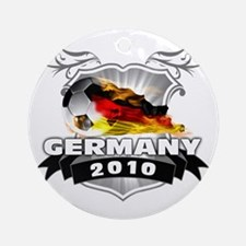 GERMANY World Cup 2010 Round Ornament