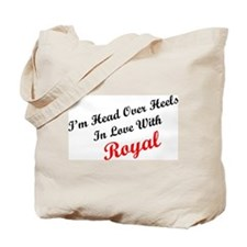 In Love with Royal Tote Bag