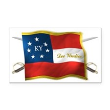 KY first national Rectangle Car Magnet