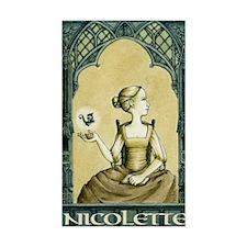 Nicolette box Decal