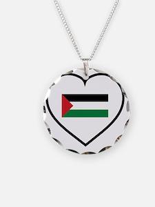 I Love Palestine Necklace