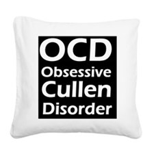 aaaaaaocdd Square Canvas Pillow