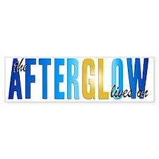 AfterglowLivesOnVersion3Stretchbl Bumper Sticker