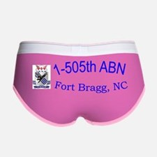 1st Bn 505th ABN Cap Women's Boy Brief