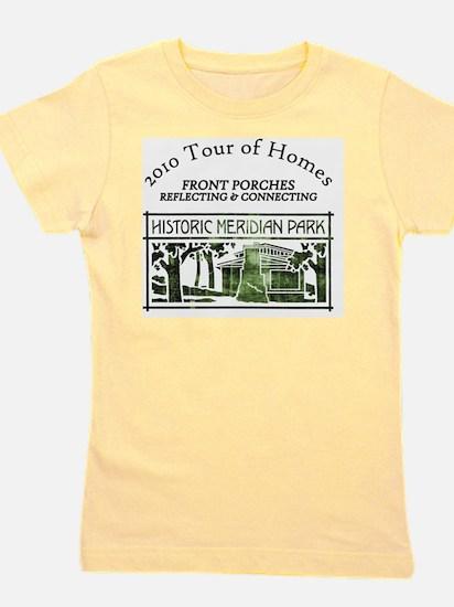 HMP home tour logo green Girl's Tee