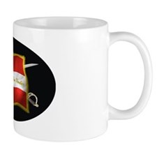 ARK first national (Oval)blk Mug
