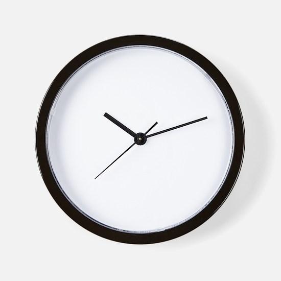 zero-grav Wall Clock