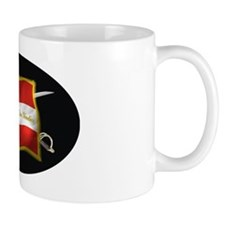 VA first national (Oval)blk Mug