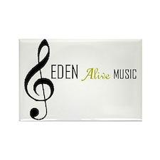 2-Eden alive logo Rectangle Magnet