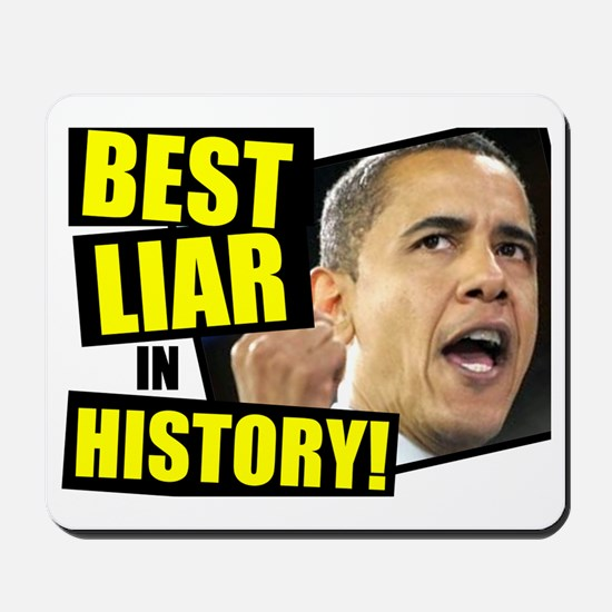 (1ALLIN)-Barack-Obama-Lies Mousepad