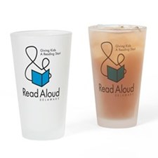 RAD_Logo_4x4 Drinking Glass
