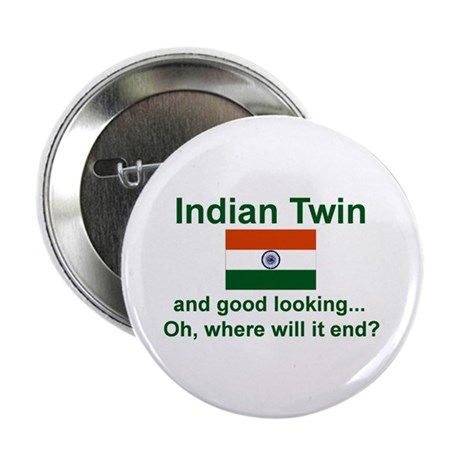 Indian Twins-Good Lkg Button