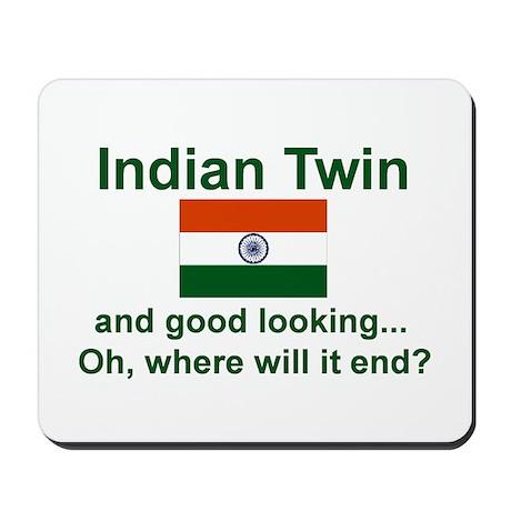 Indian Twins-Good Lkg Mousepad