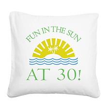 FunSun30 Square Canvas Pillow