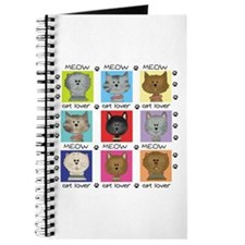 Meow Cat Lover Journal