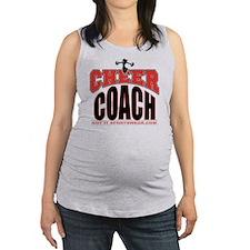 CHEER-COACH Maternity Tank Top