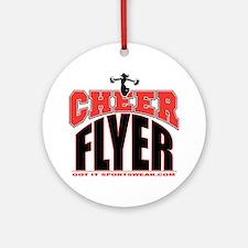 CHEER-FLYER Round Ornament