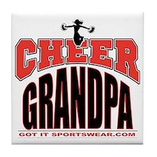 CHEER-GRANDPA Tile Coaster