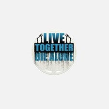 live-together-island-blue5 Mini Button