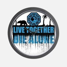 live-together-polar Wall Clock