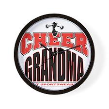 CHEER-GRANDMA Wall Clock