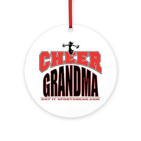 CHEER-GRANDMA Round Ornament