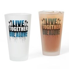 live-together-island-bl-hl Drinking Glass