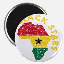 Blackstars African map Magnet