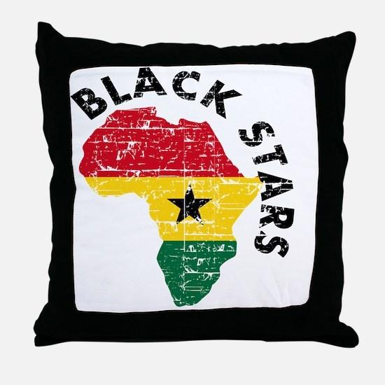 blackstars_real1 Throw Pillow