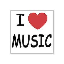 "MUSIC01 Square Sticker 3"" x 3"""