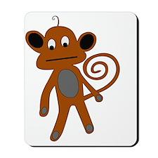 2-monkey Mousepad