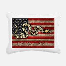 flag1-join-die-T Rectangular Canvas Pillow