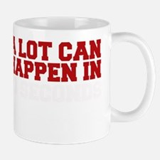 A lot can happen in 13 seconds Mug