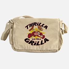 2-ThrillaOnTheGrilla2 Messenger Bag