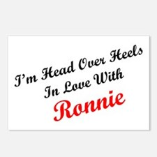 In Love with Ronnie Postcards (Package of 8)