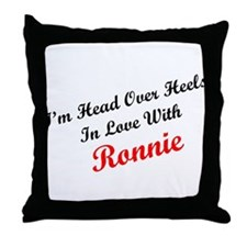 In Love with Ronnie Throw Pillow