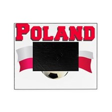 Poland Soccer Baby Picture Frame