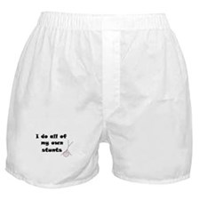 I DO ALL MY OWN STUNTS  Boxer Shorts