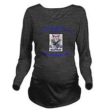 2nd Bn 505th ABN Long Sleeve Maternity T-Shirt