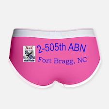 2nd Bn 505th ABN Cap Women's Boy Brief