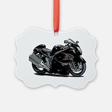 2-Hayabusa Black Bike Ornament