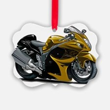 2-Hayabusa Gold Bike Ornament