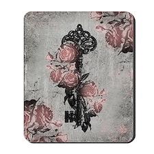 rose-key_13-5x18 Mousepad