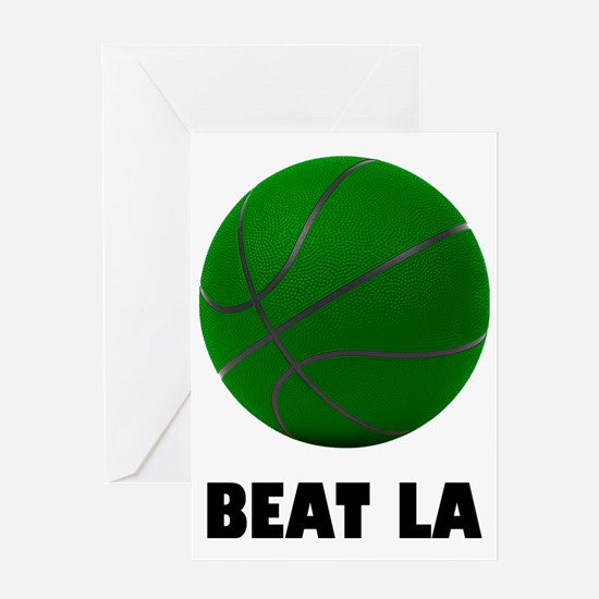 BeatLA5 Greeting Card