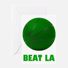 BeatLA5Bk Greeting Card