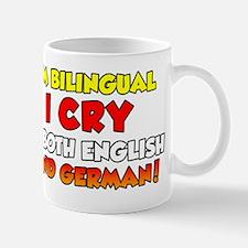Bilingual German Baby Shirt Mug