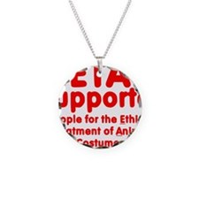 PetacSupporterOval Necklace