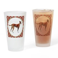 RDORN-pharaoh-hound-christmas Drinking Glass