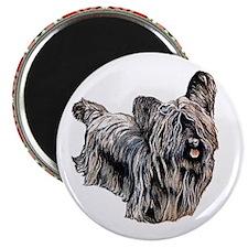 RDORN-skye-terrier-christmas Magnet